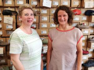 Ladenteam Regina und Karen vom gea hannover
